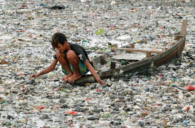 plastiques et déchets