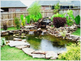 07 Backyard-With-Small-Pond-Pictures-With-Stone-And-Plants-Garden-Design-Ideas-With-Ponds