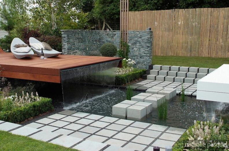 L 39 id e jardin du jour page 74 forum bassin - Idee terrasse contemporaine ...