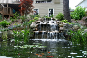 Koi-pond-and-nice-waterfall-e1381885222908