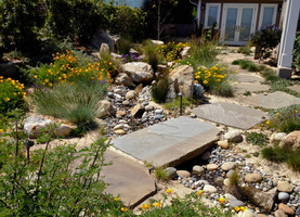 Small-River-Rock-Garden-Patio-Landscape