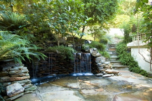Waterfall-garden-design-idea