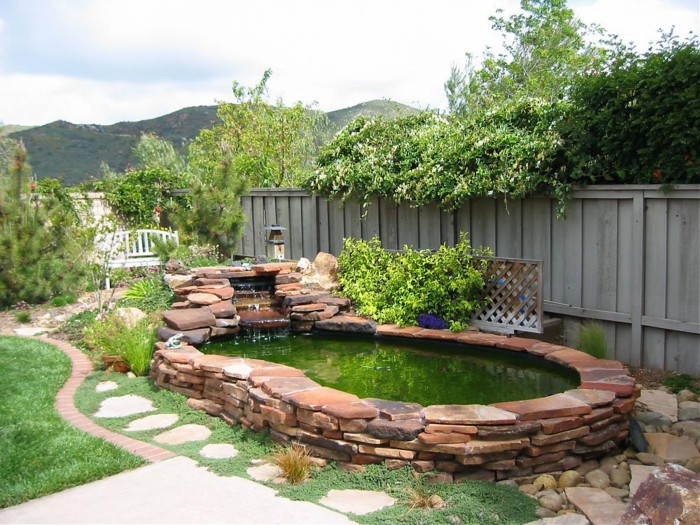 L 39 id e jardin du jour page 43 forum bassin for Garden pool liners nz