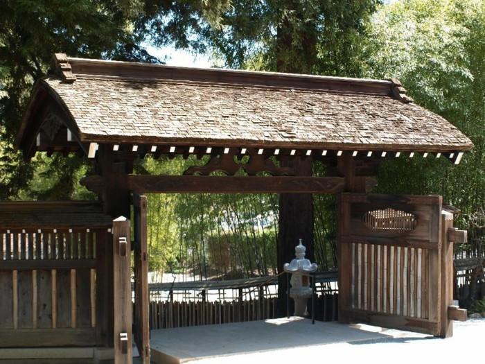 Stunning porte de jardin japonais gallery amazing house for Porte japonaise