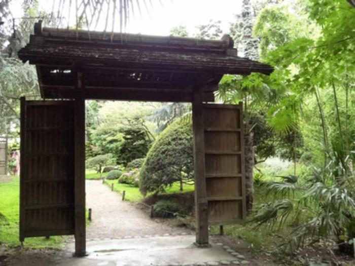 Porte Japonaise - Forum-Bassin