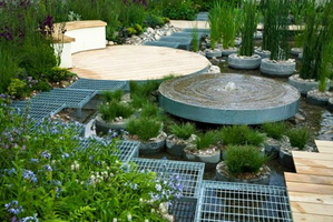 11 RBC-Blue-Water-Roof-Garden-•Designed by Professor Nigel Dunnett & The Landscape Agency.•Built by Landform Consultants